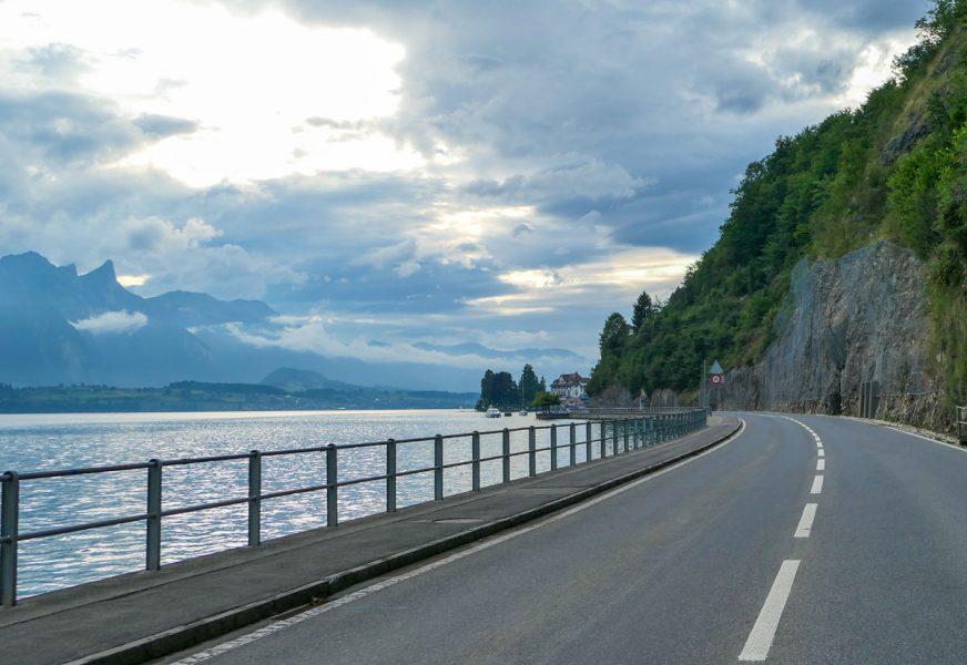 Driving around Interlaken