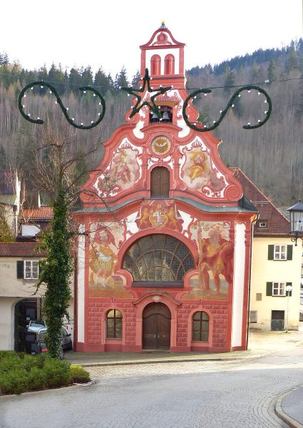 Heilig Geist Spitalkirche, Füssen, Alemanha