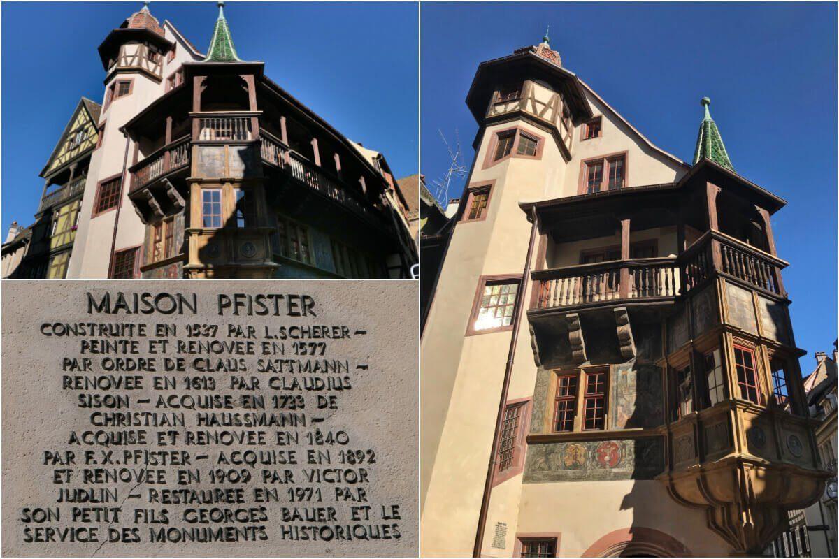 Maison Pfister, Colmar, Alsace, France