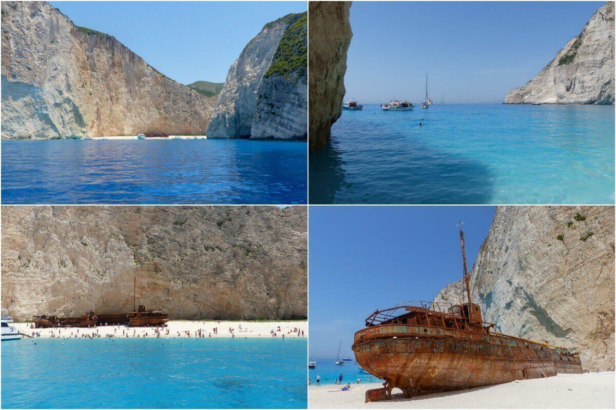 Shipwreck, Zakynthos, Grécia