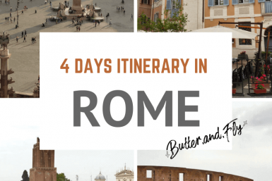4 days itinerary Rome
