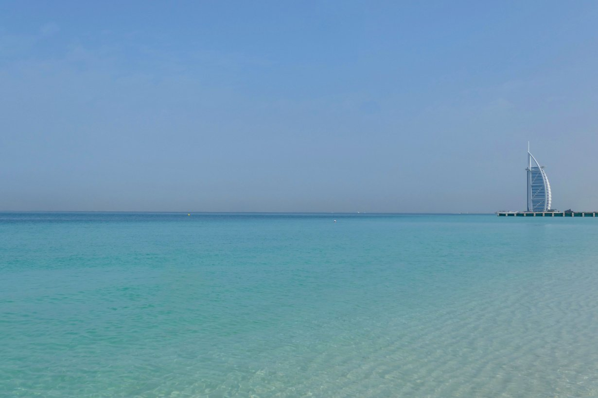 Al Sufouh Beach, Dubai, Emirados Árabes