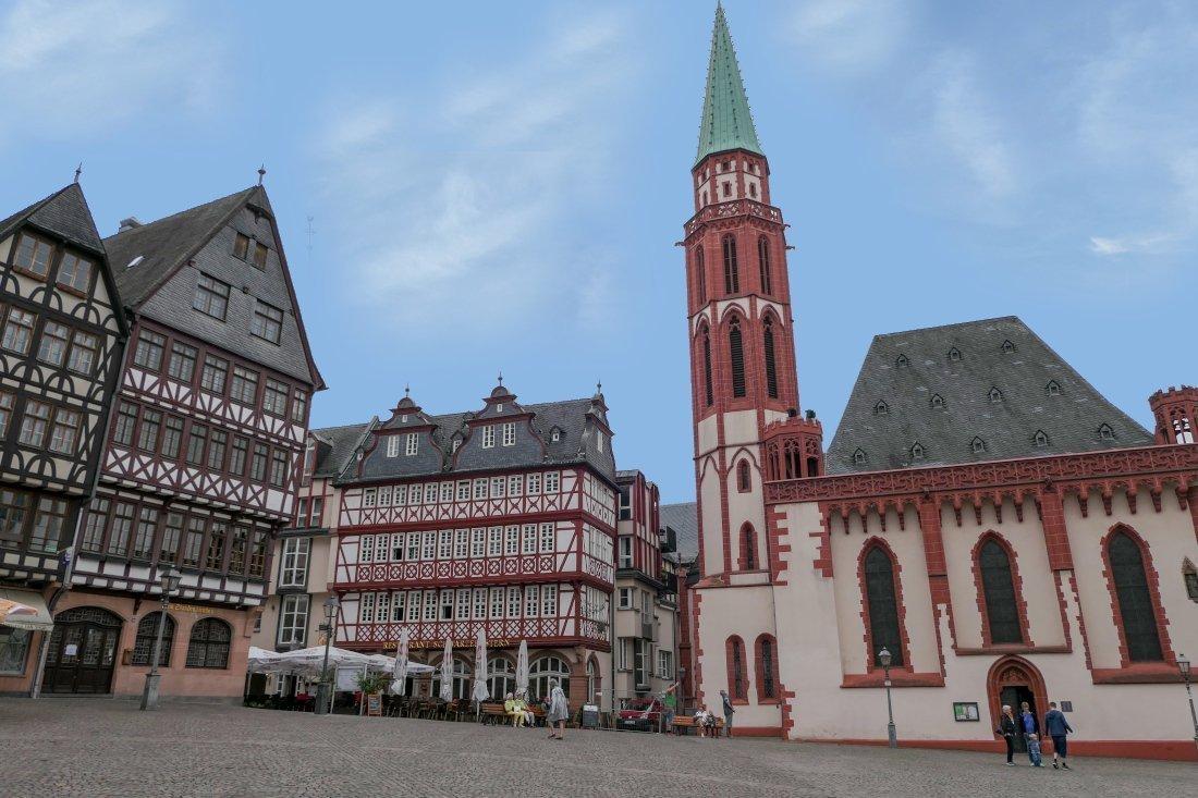 Alte Nikolaikircheou, Frankfurt, Germany