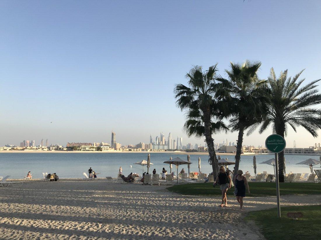 Views from Aquaventure, Dubai