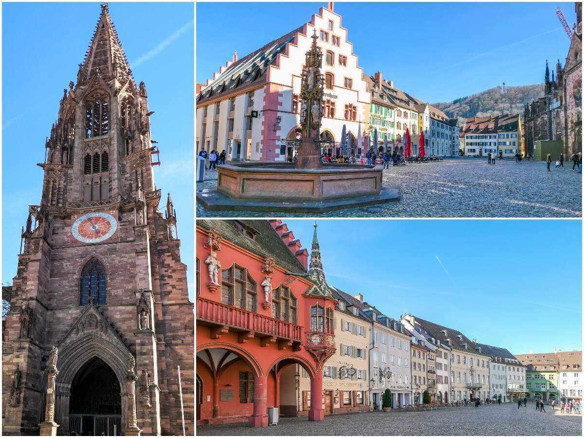 Praça Münsterplatz, Freiburg