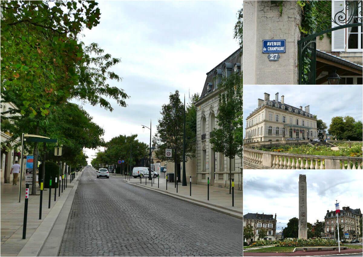 Avenue du Champagne, Épernay, France