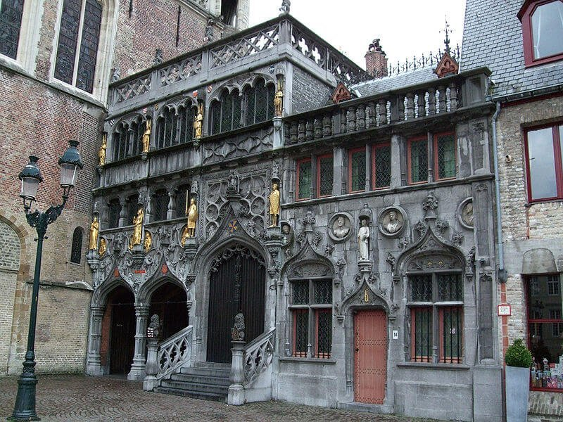 Basilica of the Holy Blood, Bruges, Belgium