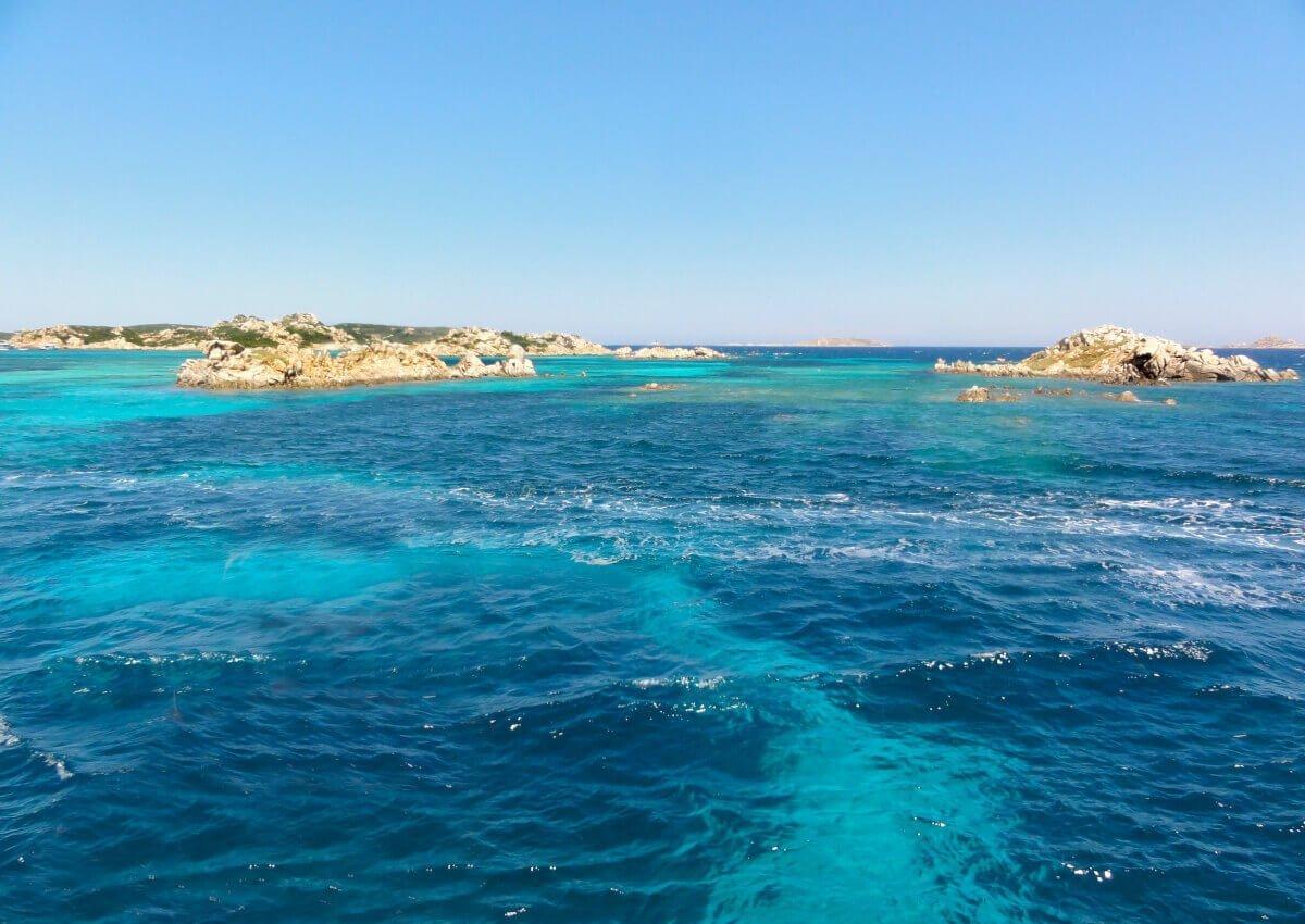Boat Tour, La Maddalena, Italy