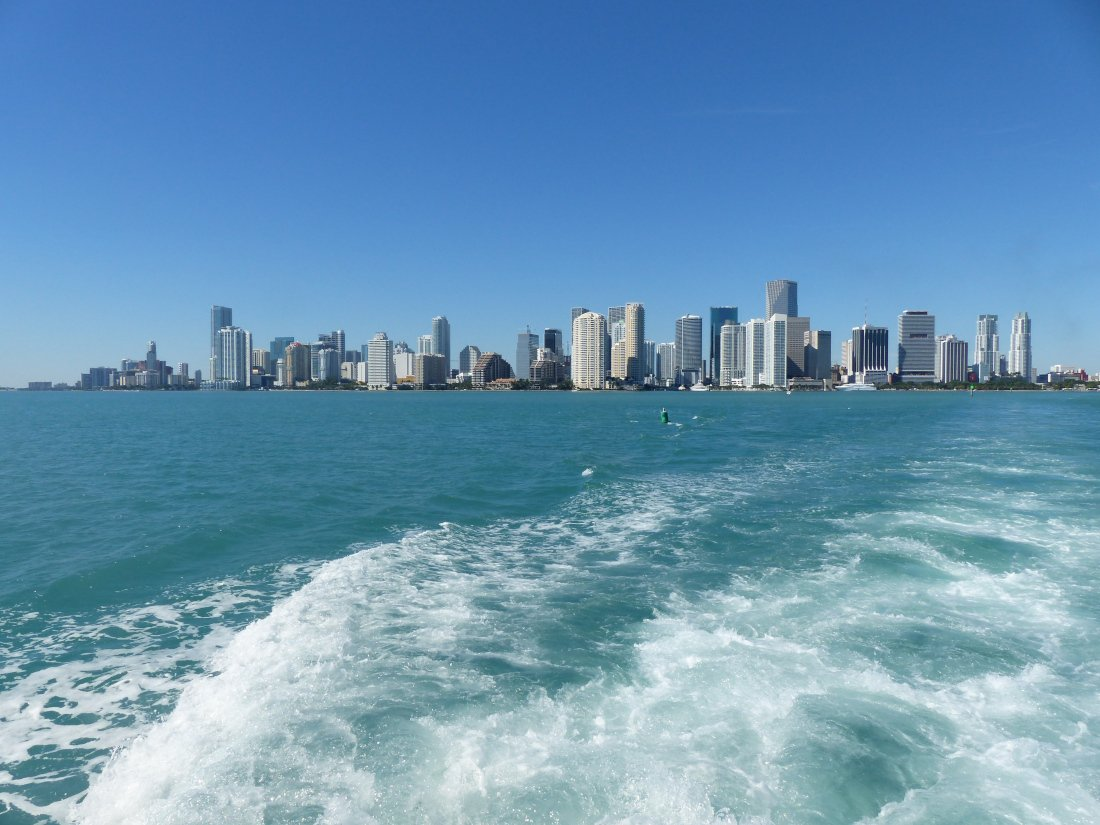 Boat Trip Miami, USA