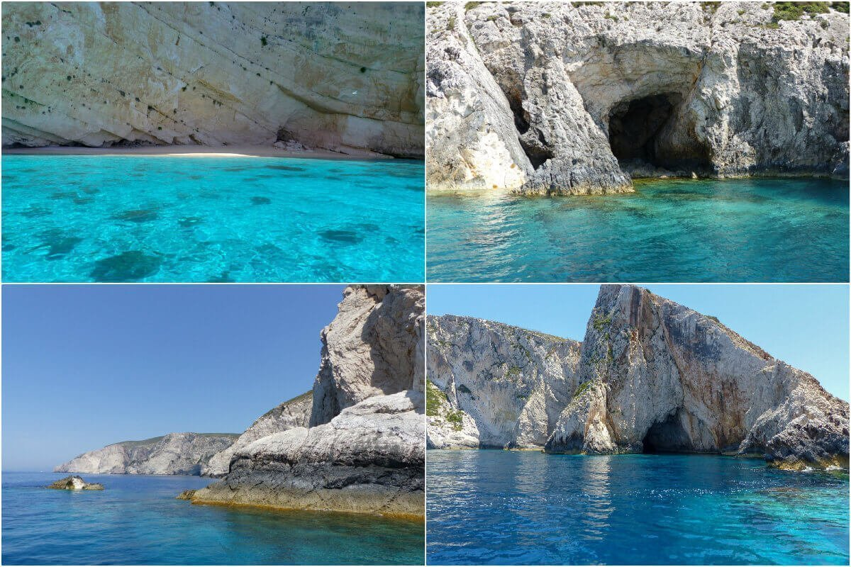 Boat to Shipwreck, Zakynthos, Greece