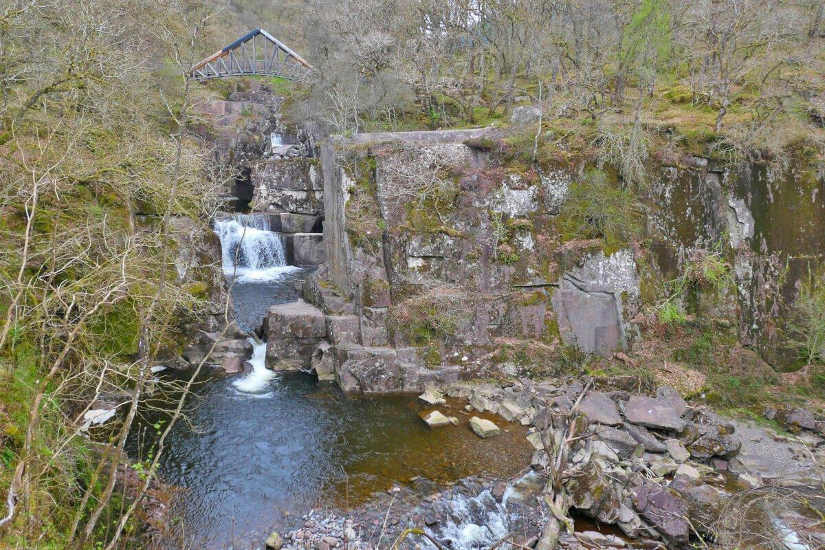 Bracklinn Falls, Callander, Scotland