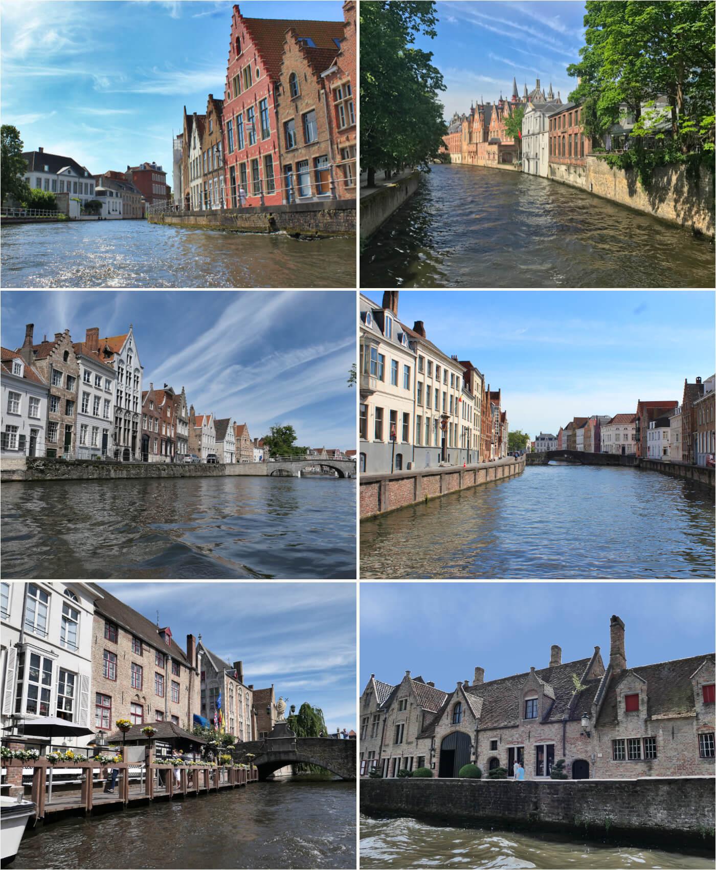 boat tour in Bruges, Belgium