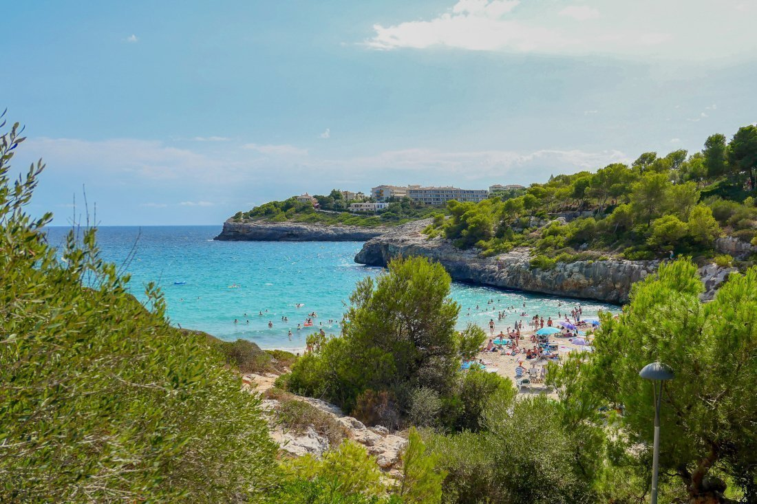 Cala Anguila, Majorca Spain