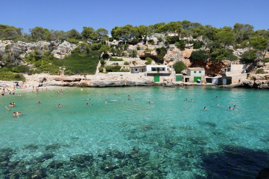 Cala Llombards, Majorca, Spain
