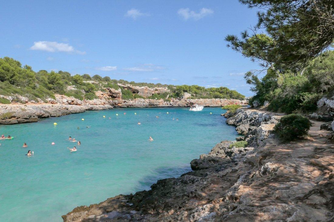 Cala Sa Nau, Majorca, Spain