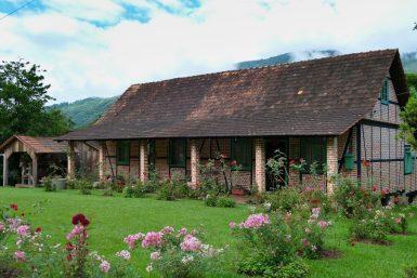 Casa Siewert, Half-timbered Route, Pomerode, Santa Catarina, Brazil