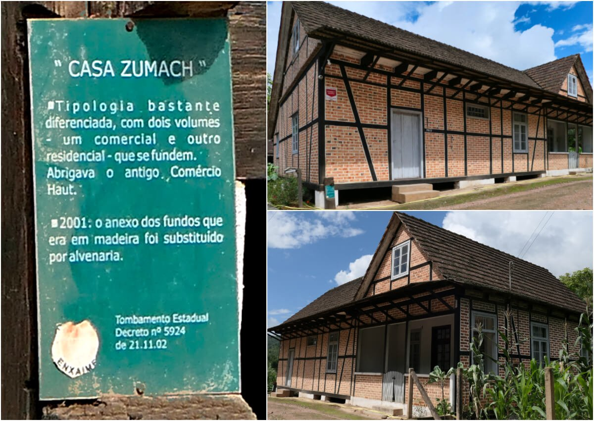 Casa Zumach, Half-timbered Route, Pomerode, Santa Catarina, Brazil