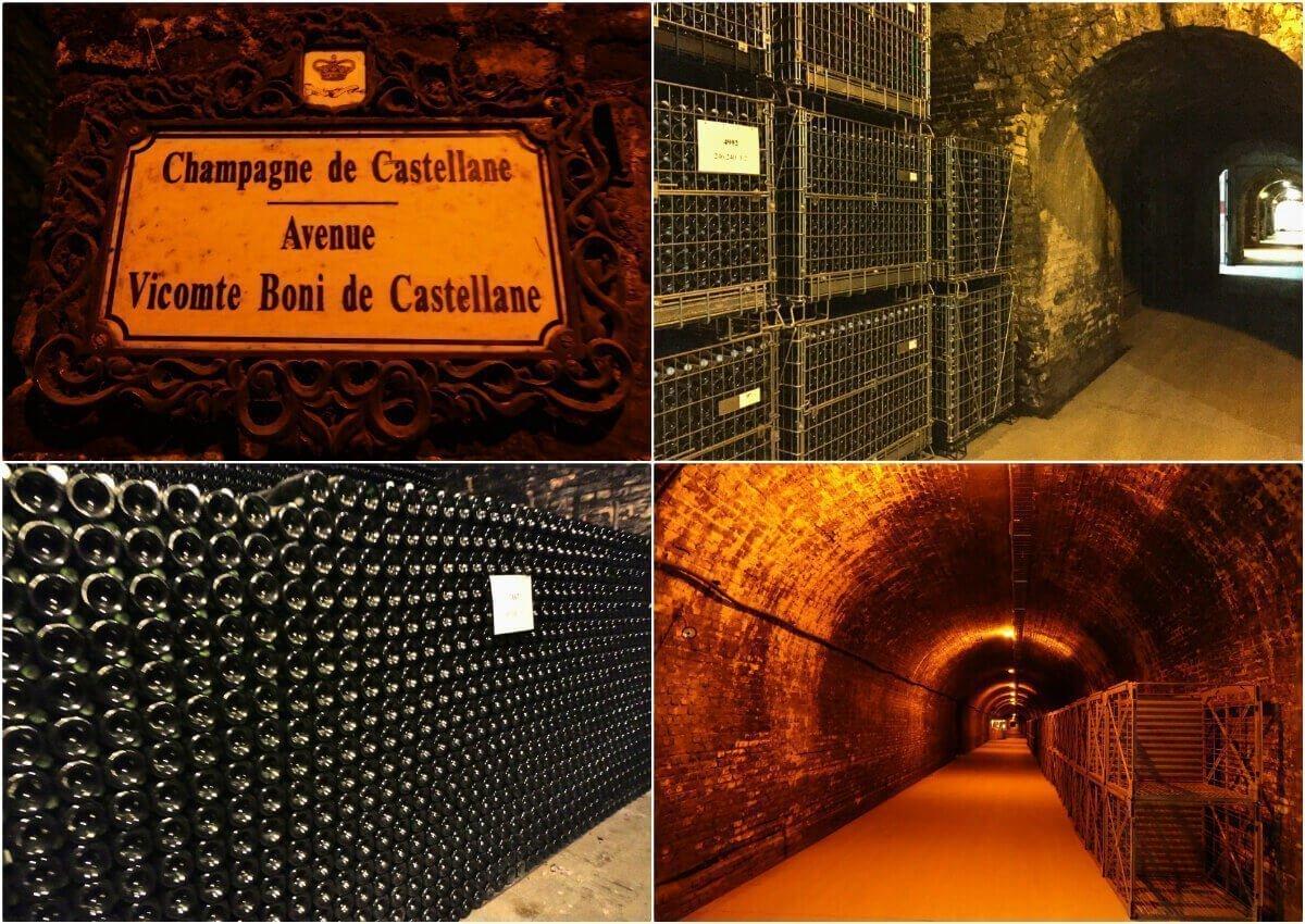 Champagne de Castellane Cellars, Épernay, France