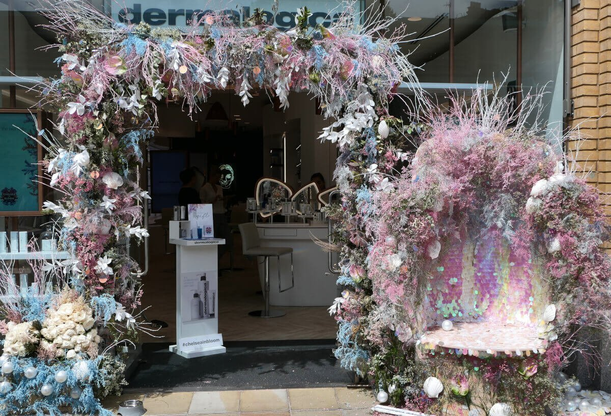 Dermalogica, Chelsea in Bloom, London, England