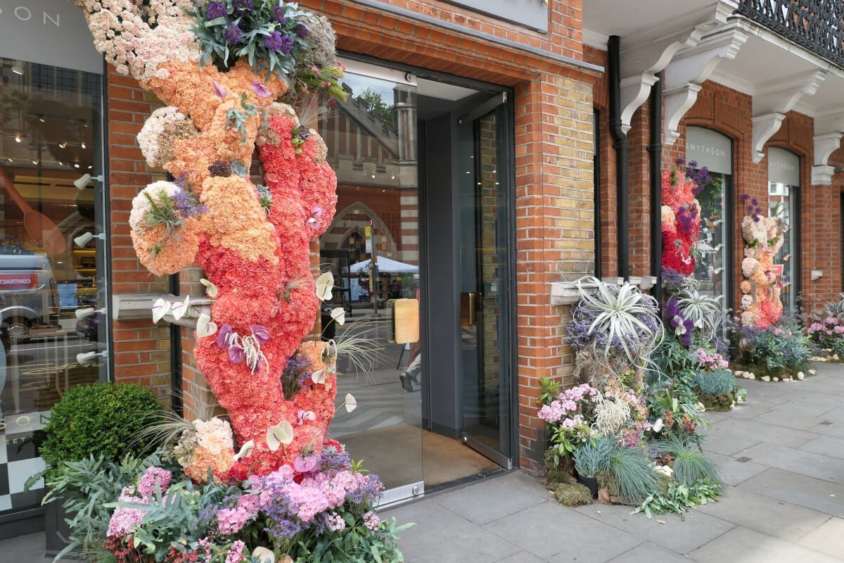 Smythson's, Chelsea in Bloom, London, England