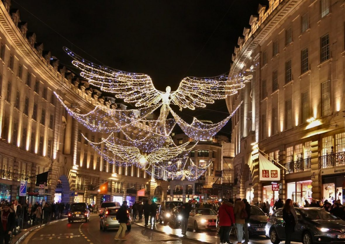 Christmas at Regent Street, London