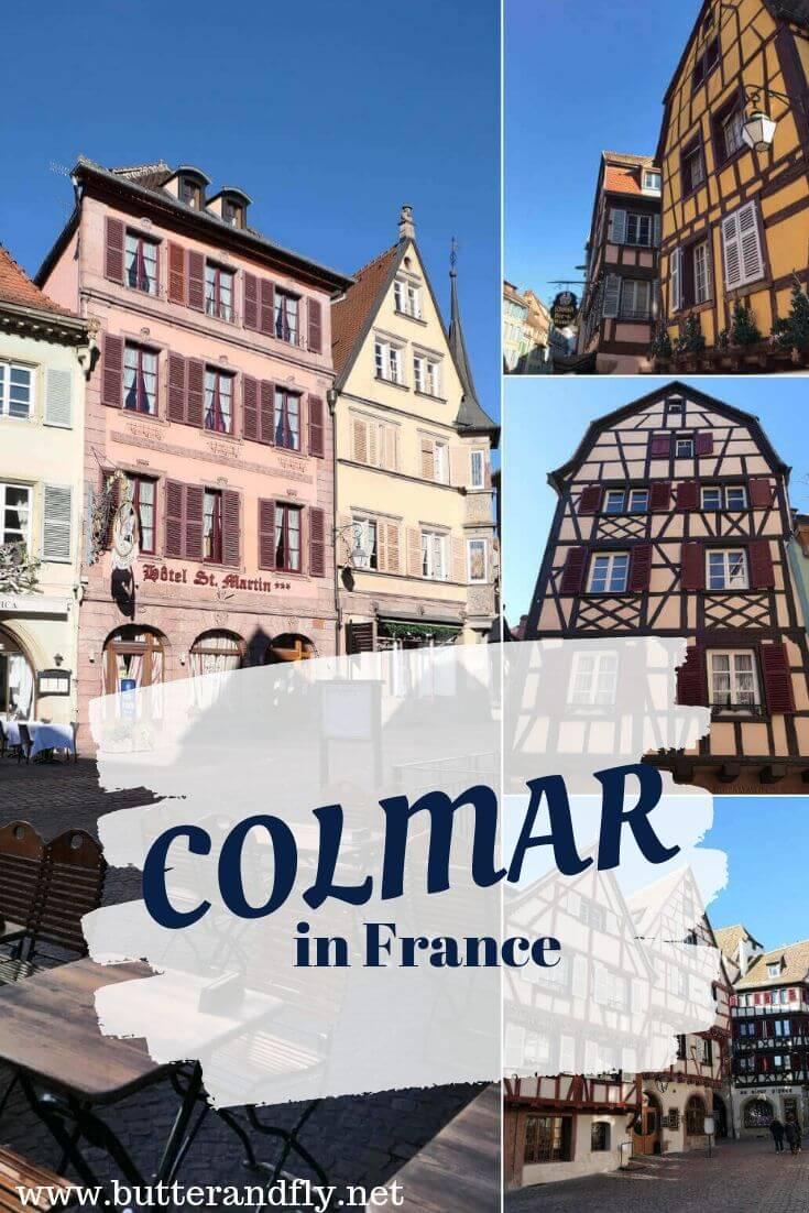 Colmar, France for Pinterest