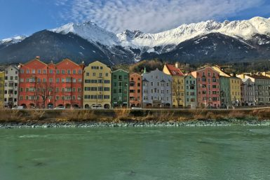 Coloured Houses, Innsbruck