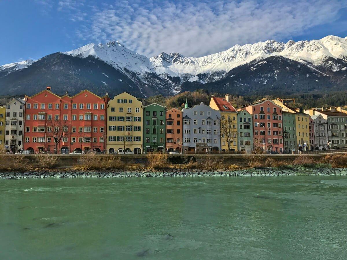 Coloured Houses, Innsbruck