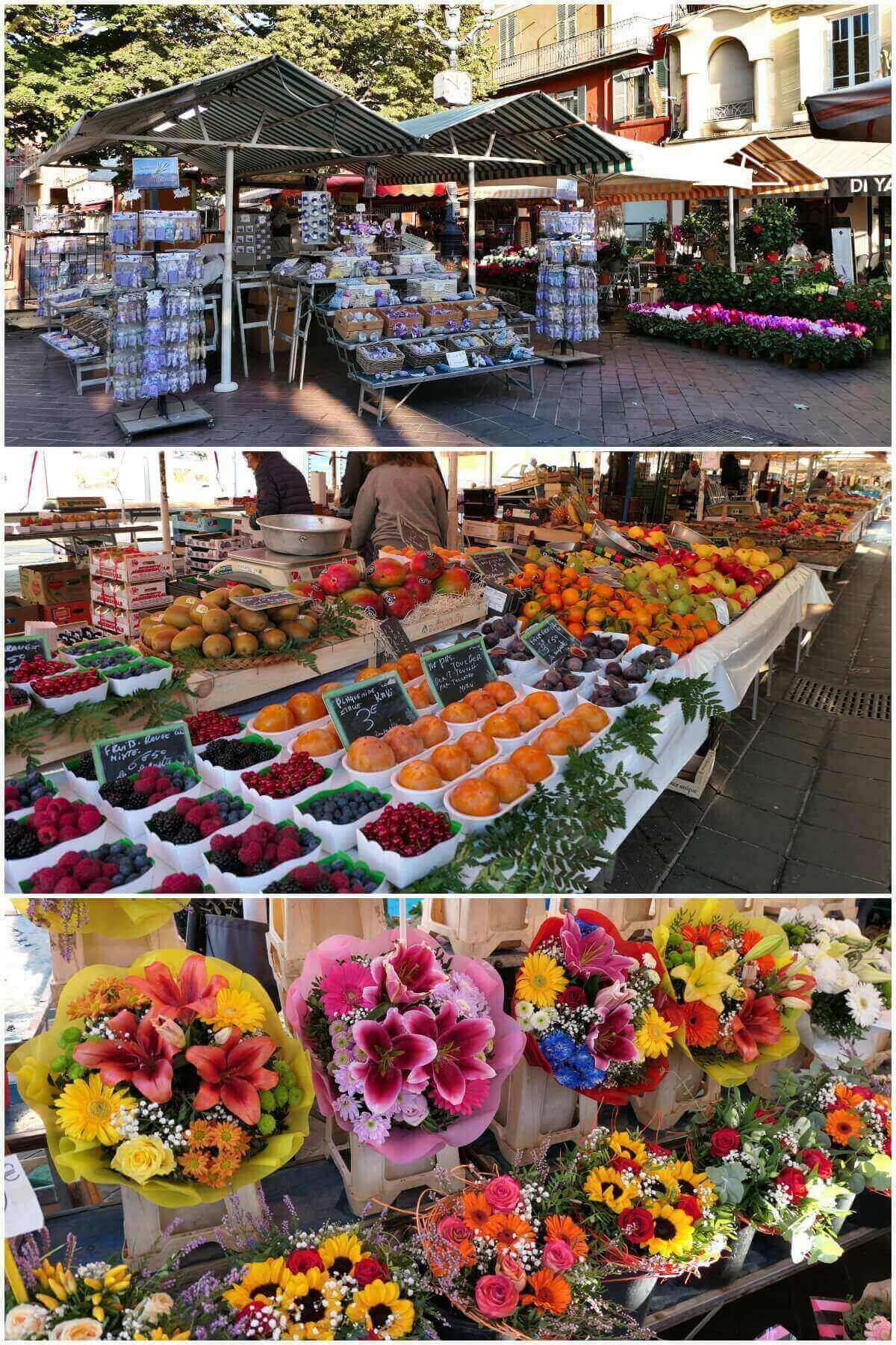 Cours Saleya Market, Nice, France