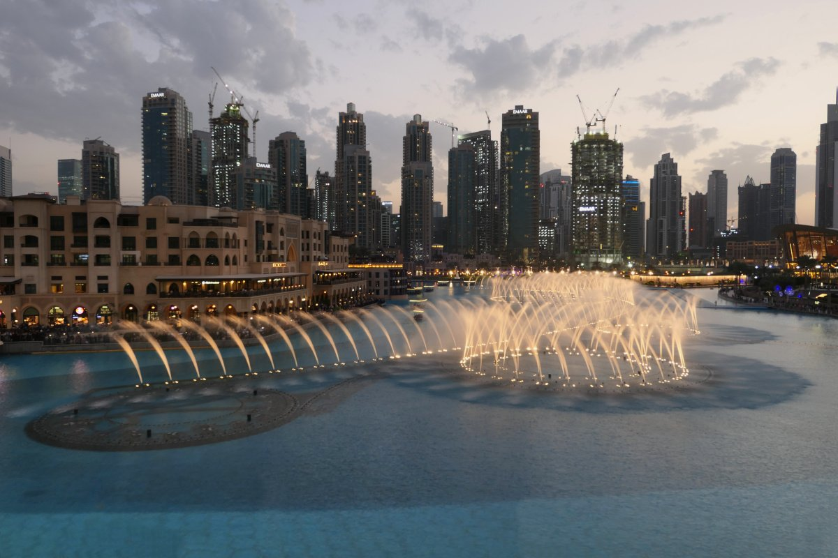 Dubai Fountains, Dubai Mall