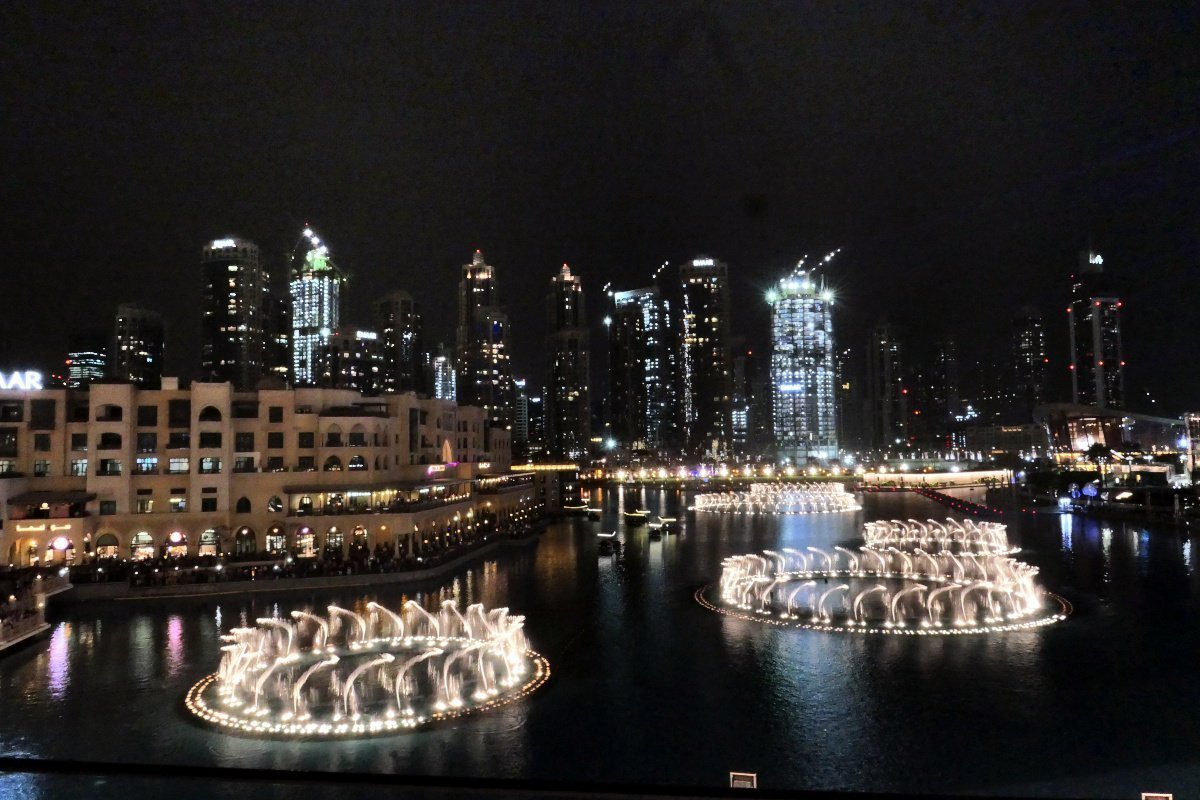 Dubai Fountains, Dubai Mall