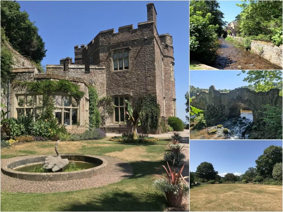Dunster Castle Gardens, England