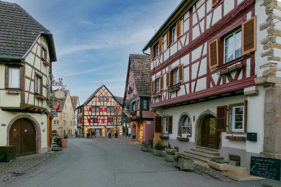 Eguisheim, one of the most beautiful villages in France