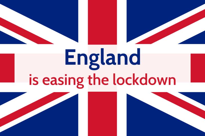 England easing lockdown