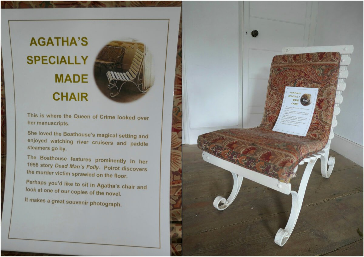 Greenway, Agatha Christie Chair, England