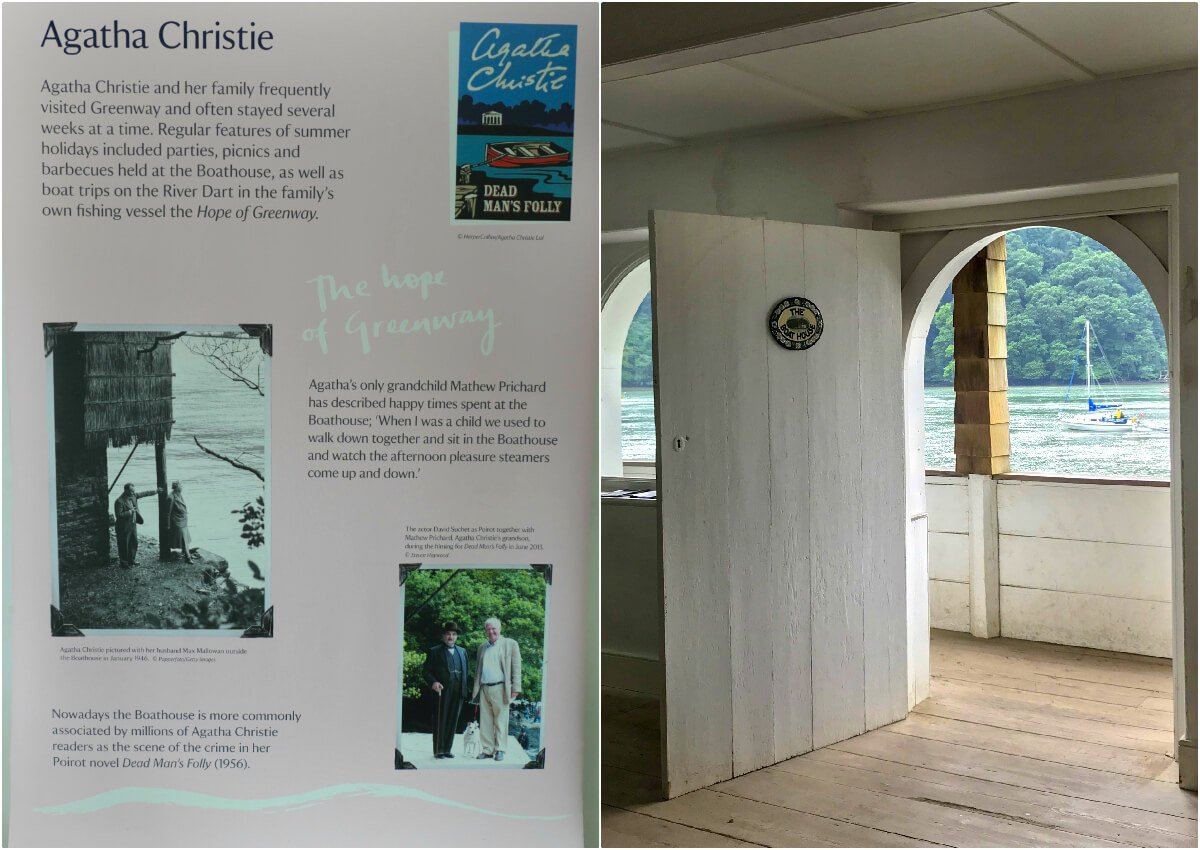 The Boat House, Greenway, Agatha Christie House, England