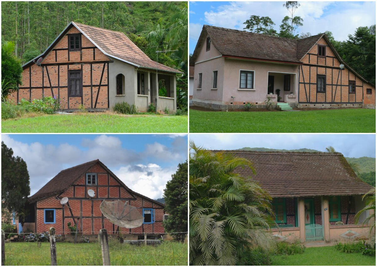 Half-timbered Route, Pomerode, Santa Catarina, Brazil