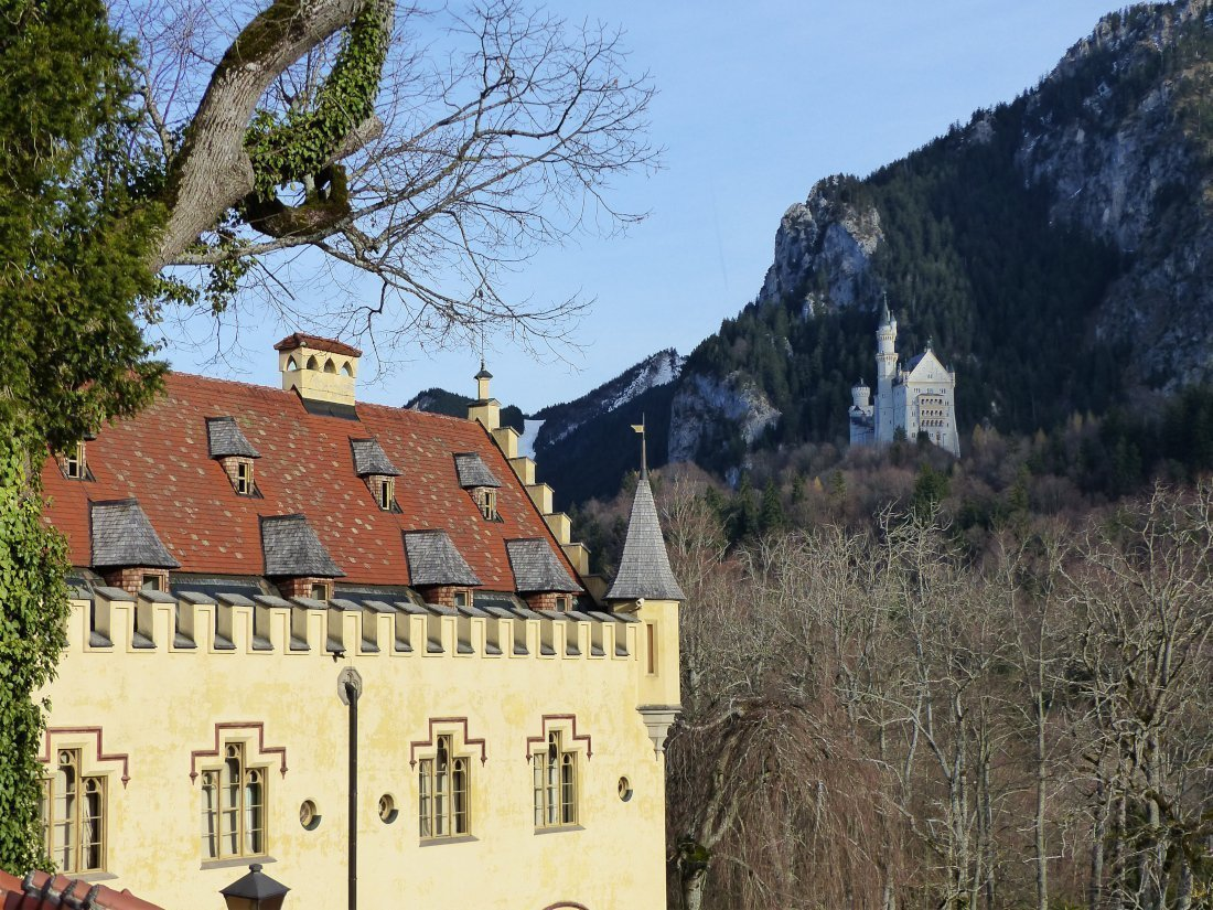 Hohenschwangau and Neuschwanstein Castle, Germany
