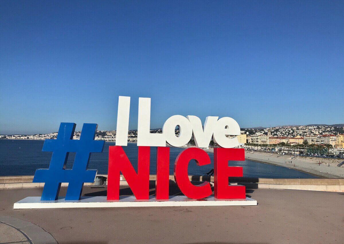 I Love Nice Sign #ilovenice