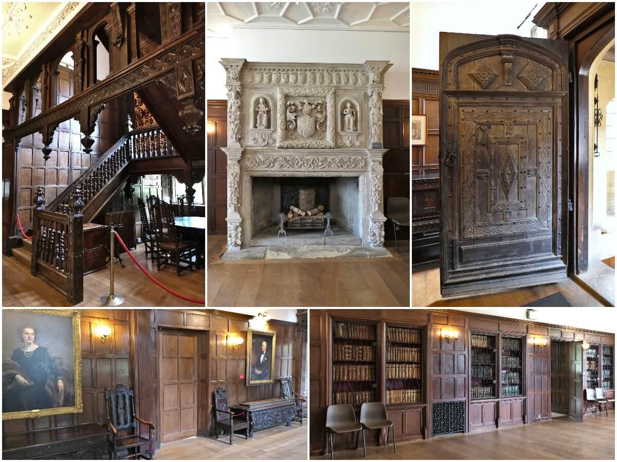Inside Wakehurst Mansion