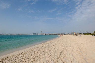 JBR Beach, Dubai, Emirados Árabes