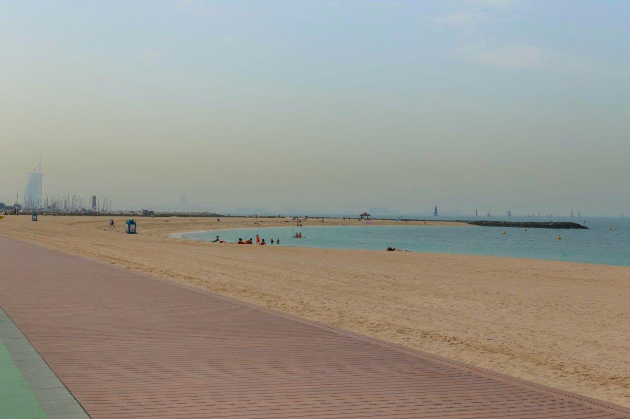 Jumeirah Open Beach, Dubai, Emirados Árabes