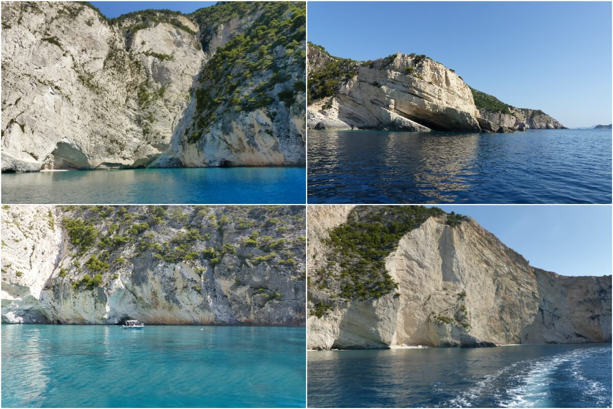 Keri Caves, Boat Tour, Zakynthos, Greece