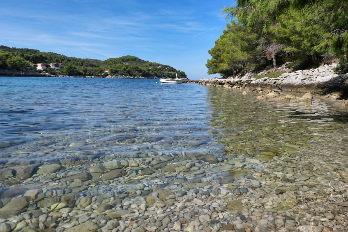 Loštura, Poplat, Korčula, Croatia