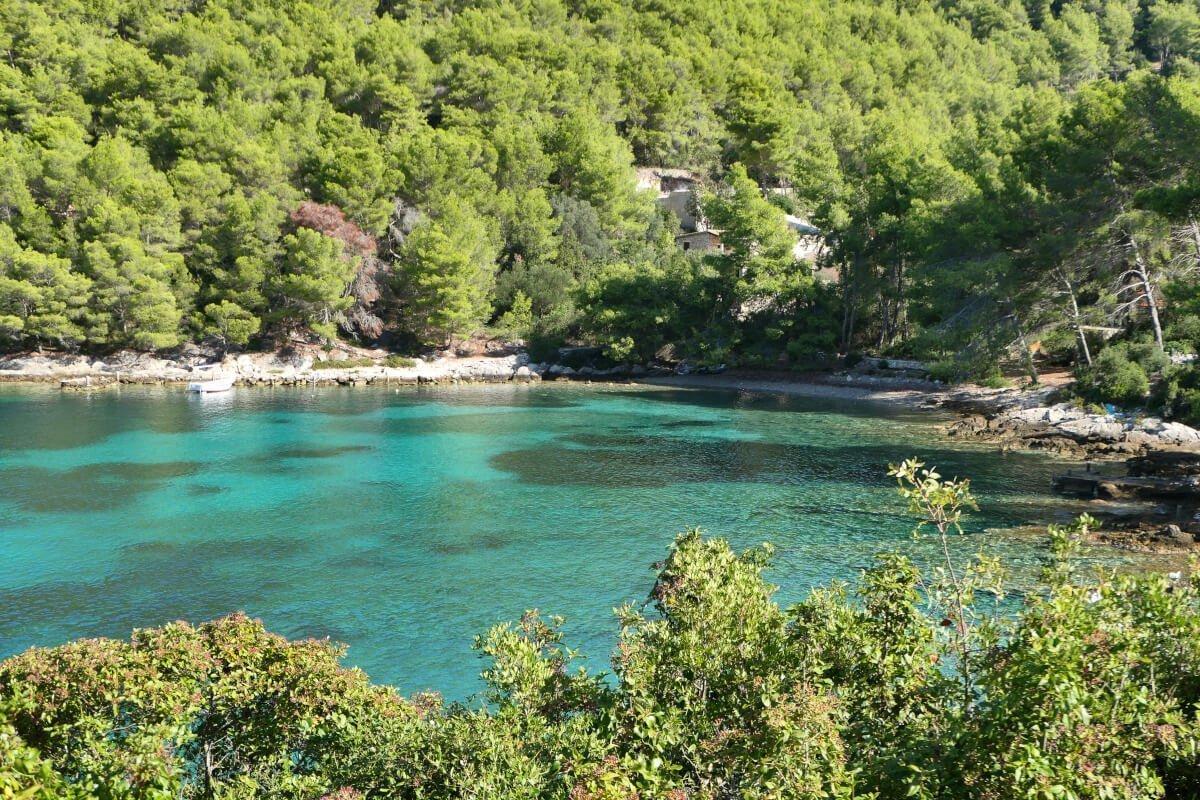 Loštura - Poplat, Korčula, Croatia