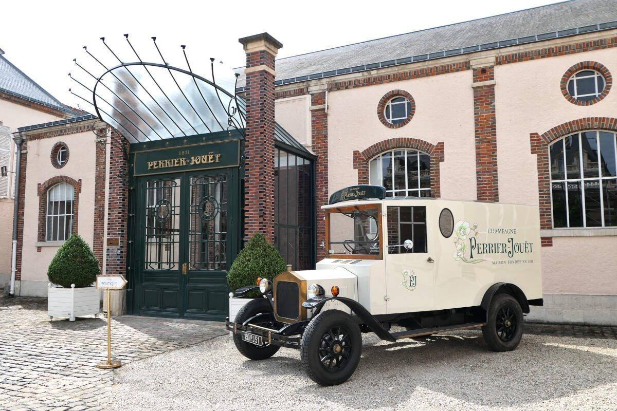 Maison Perrier-Jouët, Épernay, France