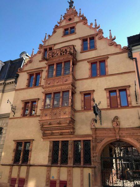 Maison dês Tetes, Colmar, Alsace, France