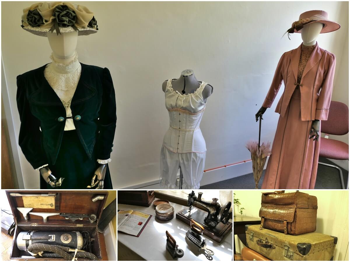 Margaret Greville clothes and objects