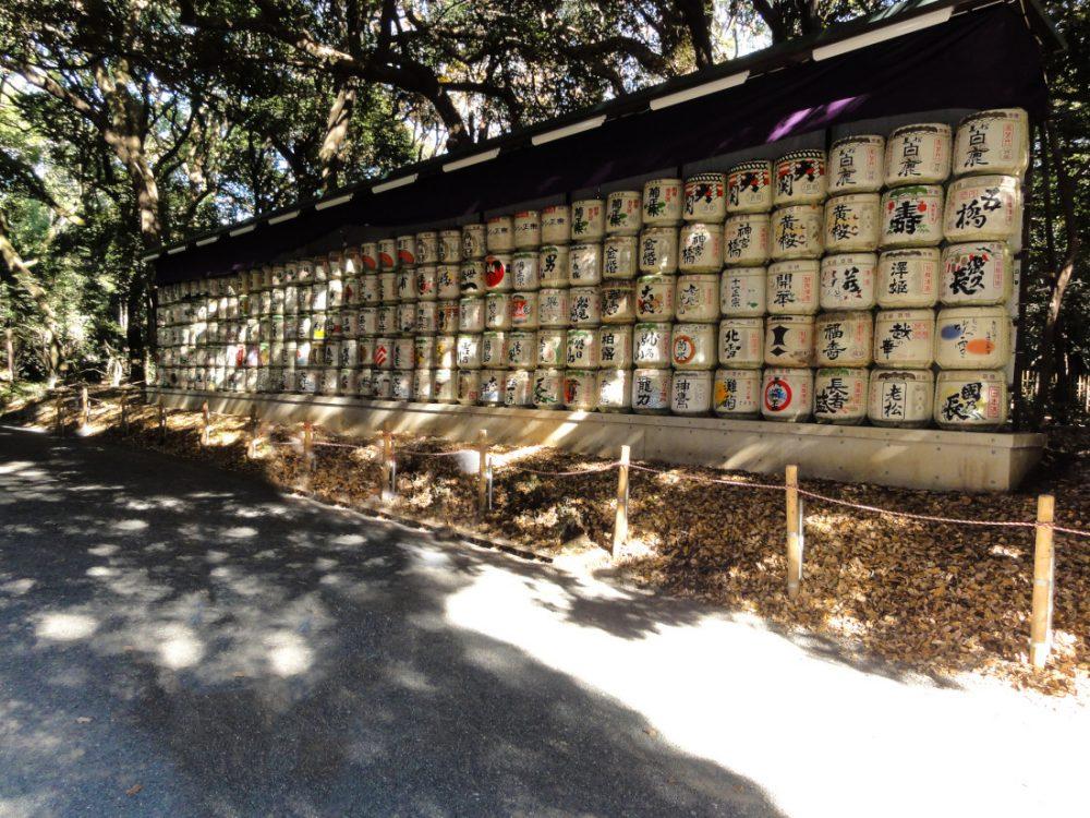 Meiji Jingu e Yoyogi Park, Tokyo, Japan