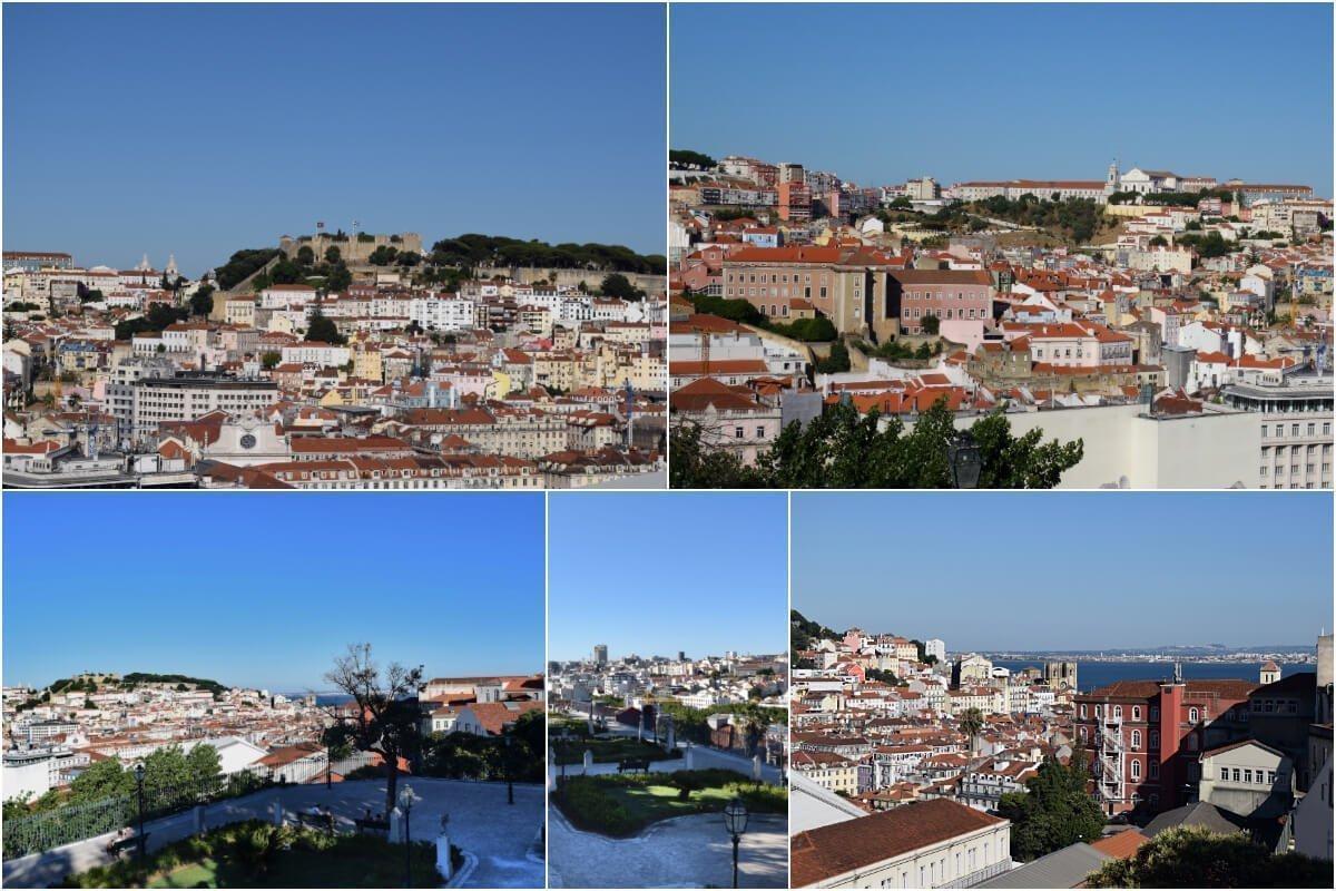 Miradouro de São Pedro de Alcântara, Lisbon, Portugal